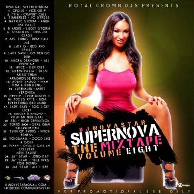 DJ Novastar Supernova The Mixtape Vol 8 (2010)