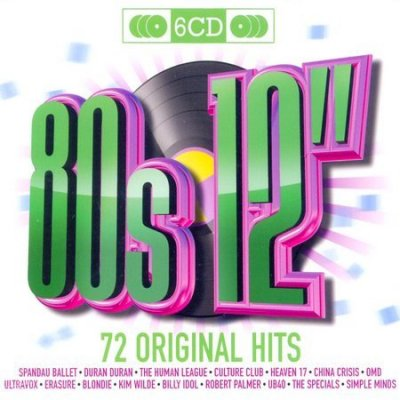 80s 12inch 72 Original Hits (6CD) (2009)