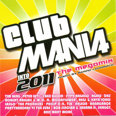 Клубная Mania Into 2011 The Megamix (2010)