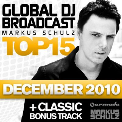 Global DJ Broadcast Top 15 December 2010