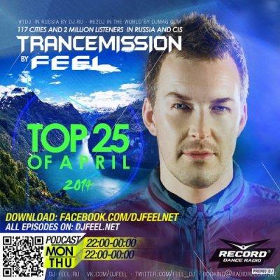 DJ Feel - Top 25 of April 2014