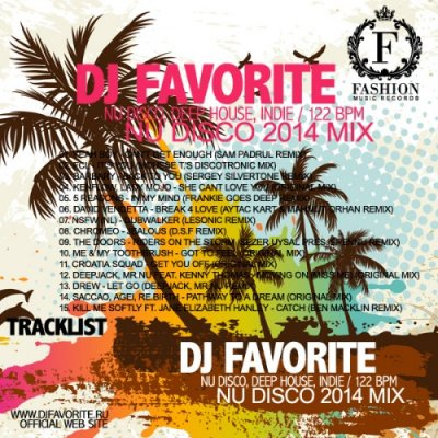 DJ Favorite - Nu Disco Summer 2014 Mix (Terrace, Beach, Restaurant)