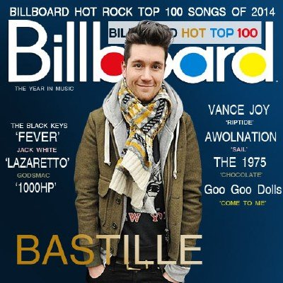 Billboard Hot Rock Top 100 Songs of 2014 (2014)