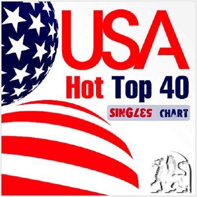 USA Hot Top 40 Singles Chart 10 January (2015)