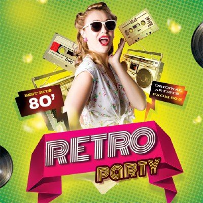 Retro Party - Best Hits 80s (2015)