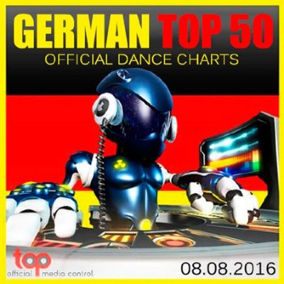 German Top 50 Official Dance Charts 08.08.2016 (2016)