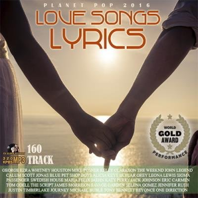 100 Planet Pop: Love Songs Lyric (2016)