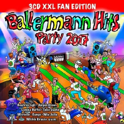 Ballermann Hits Party 2017 (XXL Fan Edition) (2016)