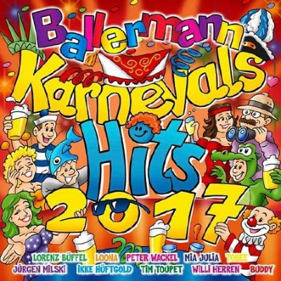 Ballermann Karnevals Hits 2017 (2016)