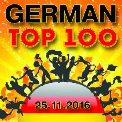 German Top 100 Single Charts 25.11.2016 (2016)