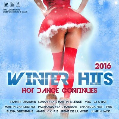 скачать альбом Winter Hits. Hot Dance Continues (2016)