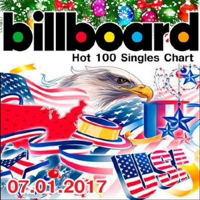 Billboard Hot 100 Singles Chart 07.01.2017 (2016)