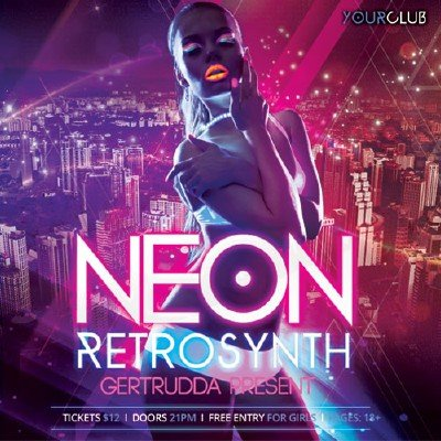 скачать альбом Neon RetroSynth (2018)
