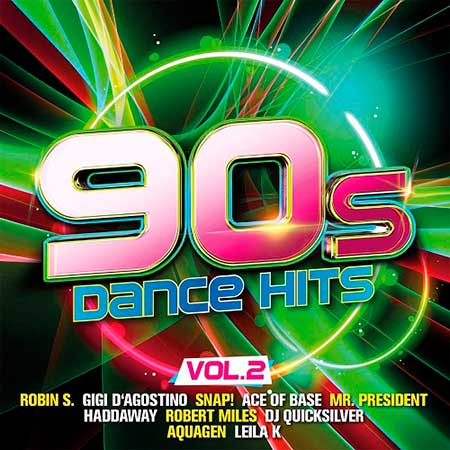 90s Dance Hits Vol.2 [2CD] (2018)