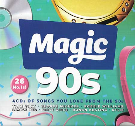 Magic 90s [4CD] (2018)